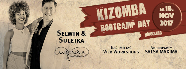 Kizomba Nürnberg Tarraxha DJ Norb Selwin Suleika